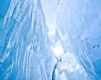 Iceland Blue Ice: Photography Print, Fine Art Photography, Wall Art, Landscape Fine Art Photography, Wall Art, Landscape Photography,