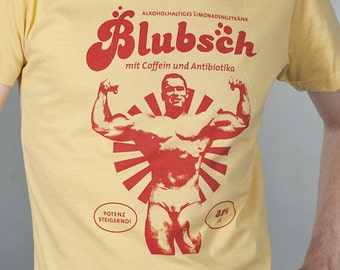 Blubsch - retro screenprint of shirt boys