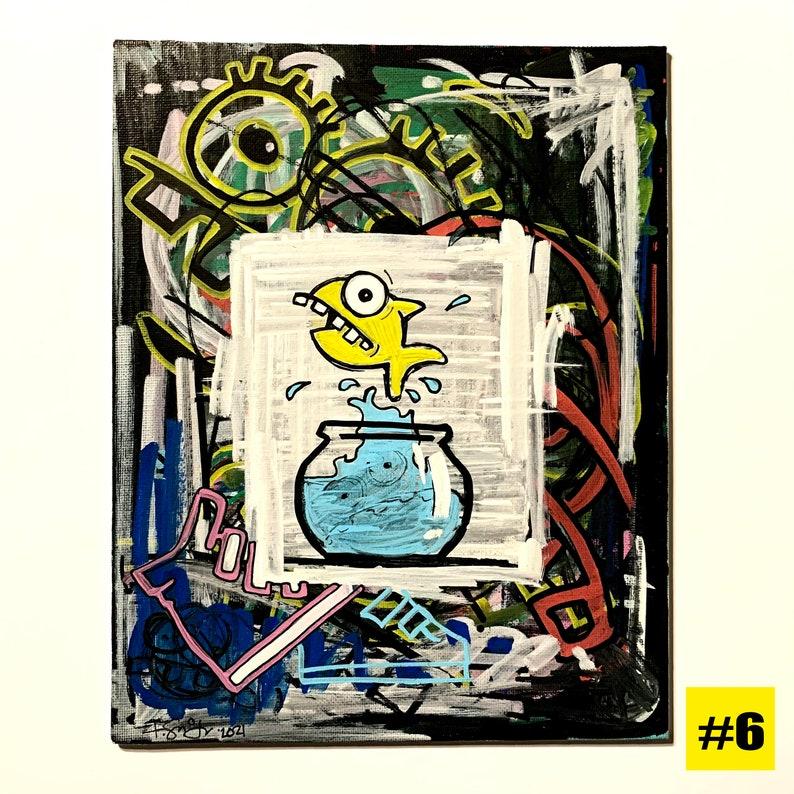 8x10 Original Paintings image 0