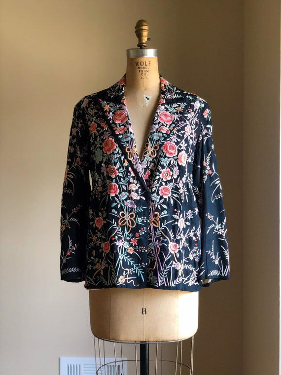 Vintage Chinese Hand Embroidered Jacket