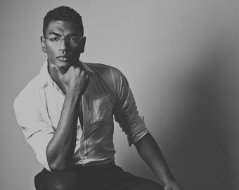 Portrait Photography, Black and White Photo, Black Male Portrait, Art Poster, Black and white Portrait,Fine Art Prints, Wall Art,Portraiture