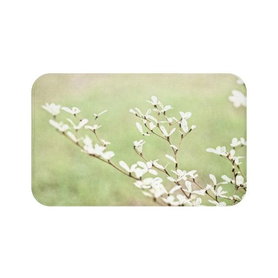 Badezimmer Matte Badezimmer Fussmatte Mint Grun Druck Baum