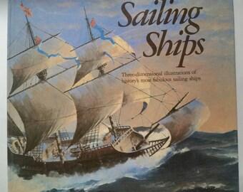 Sailing Ships Three Dimensional illustrations                                                                ET011