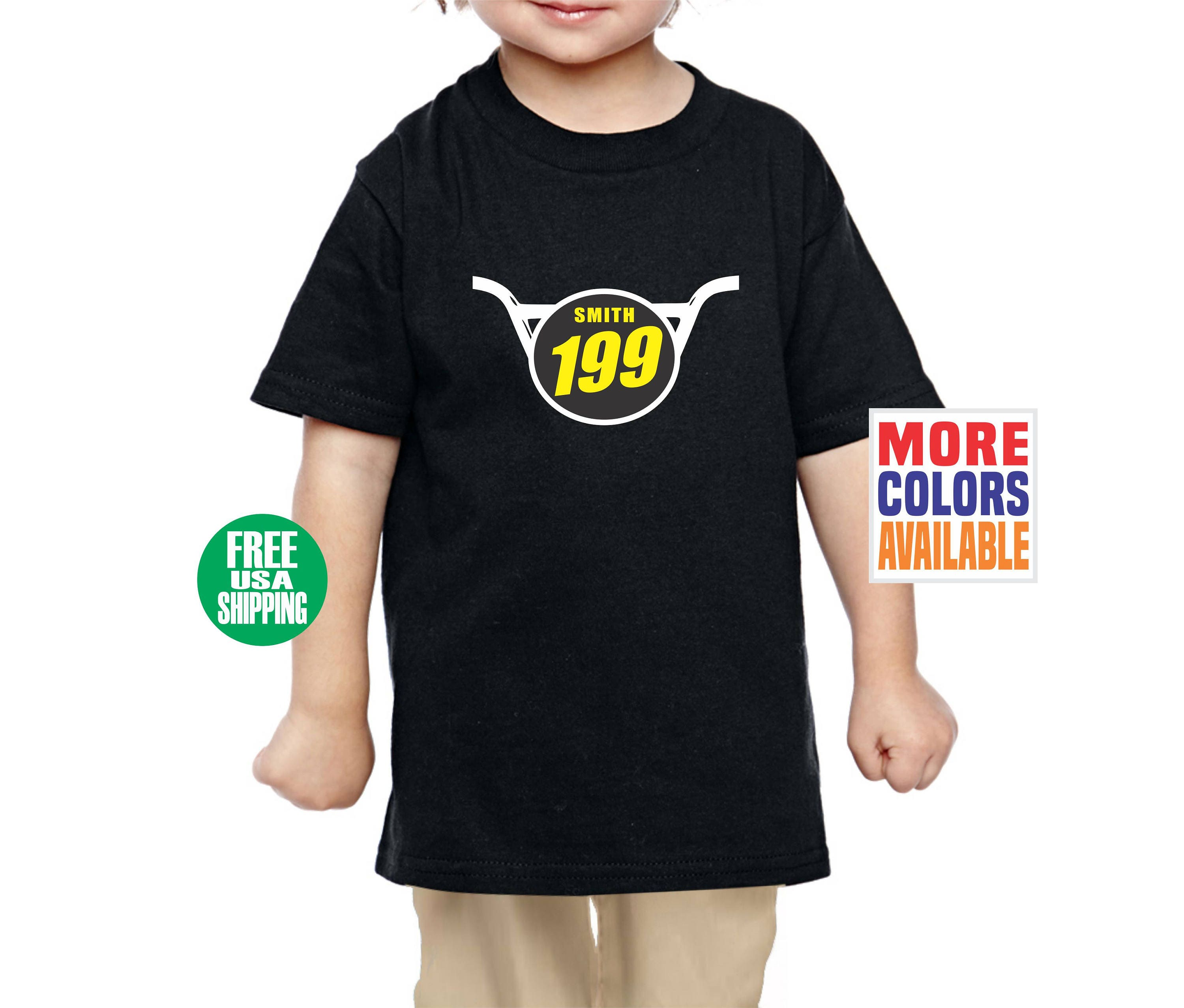 217e0ca4c BMX NUMBER PLATE Toddler T Shirt Tee Infant Kid Baby Shower