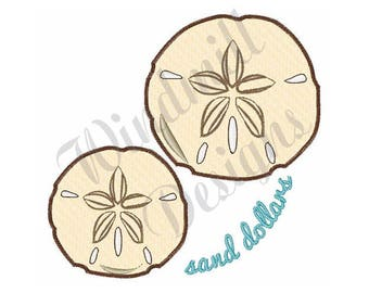 Sand Dollars - Machine Embroidery Design