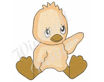 Baby Ducky - Machine Embroidery Design