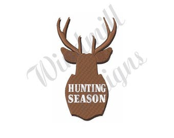 Hunting Season - Machine Embroidery Design