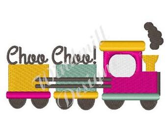 Choo Choo Train - Machine Embroidery Design