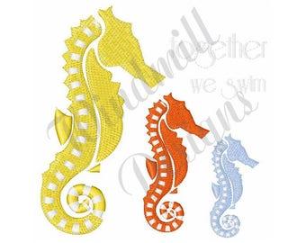 Sea Horses - Machine Embroidery Design