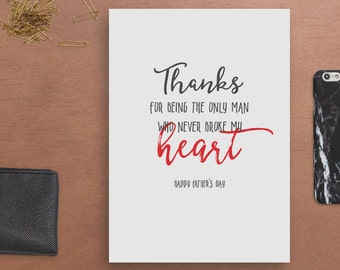 Father's Day Card / Father's Day Greeting Card / DIY Printable / Digital Download