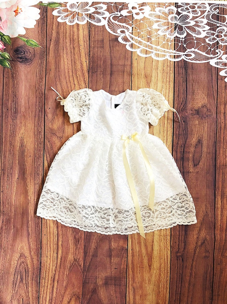 53d59a403453 Christening Dresses For Baby Girl Cotton - raveitsafe