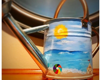 Beach  watering can