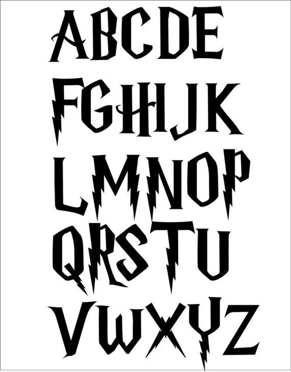 "Star Wars Font Alphabet 3/"" Tall Letters 8.5/"" x 11/"" 5 Stencil Set FREE SHIPPING"