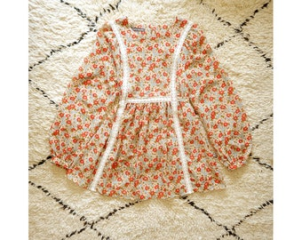 006b2deb938ea Laura Ashley tunic   blouse vintage 1970s style prairie   hippie blouse    uk 10