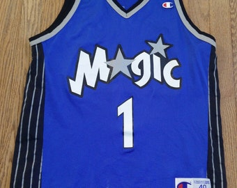 025793413 Vintage Mens NBA Orlando Magic Tracy McGrady basketball jersey