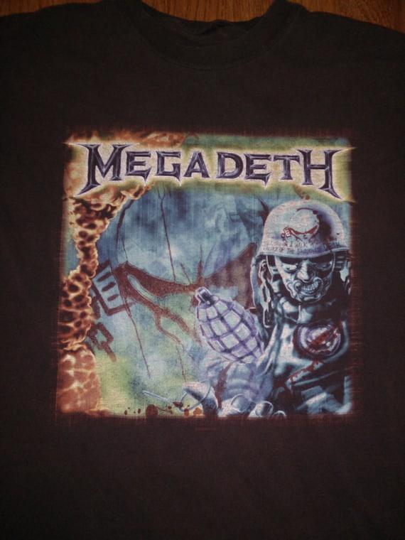 Vintage Men's Megadeth tee