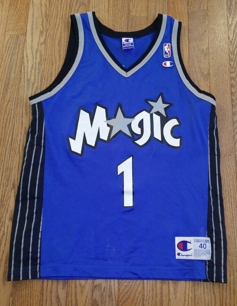 huge discount 6b443 f315a Vintage Mens NBA Orlando Magic Tracy McGrady basketball jersey