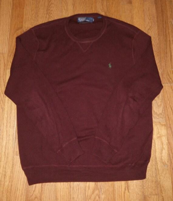 Polo Pull Sweater Ralph Men's Over Vintage Lauren 0X8wOPnk