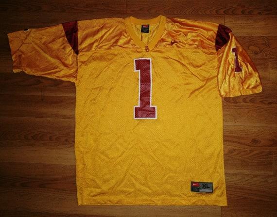 low priced 9220f 9cc90 Vintage Mens Nike NCAA USC Trojans football jersey