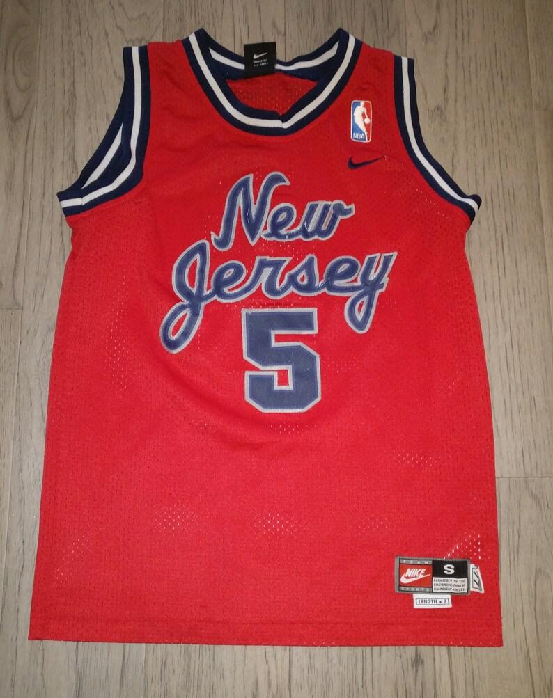 05b3c38d673b Vintage Youth   Kids NBA Nike Jason Kidd basketball jersey