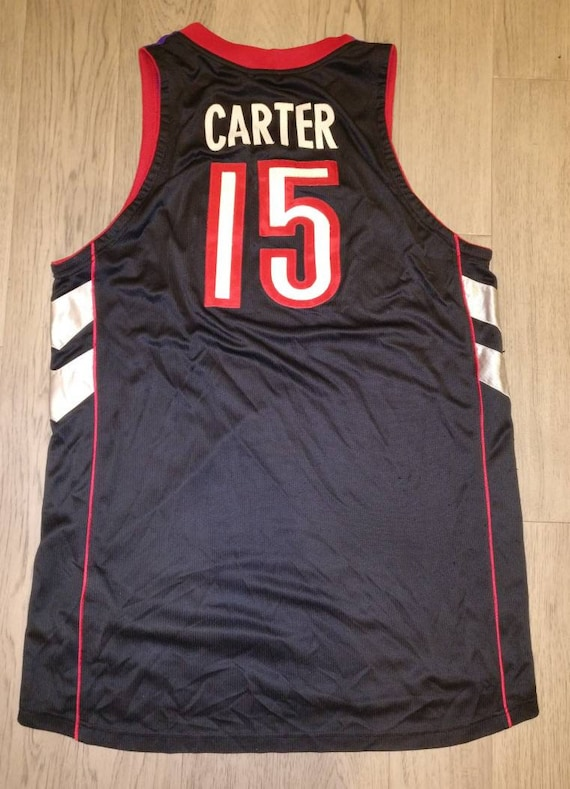 brand new bb9fa 46e25 Vintage NBA Authentic Mens Nike Toronto Raptors Vince Carter basketball  jersey