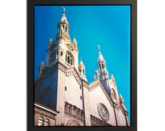 """Fine Art Photography """"Peter and Paul"""" Framed Stretched Canvas"""