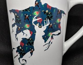 Coffee Mug, Coffee Cup - Harry Potter, HP - Dementor, Doe, Always