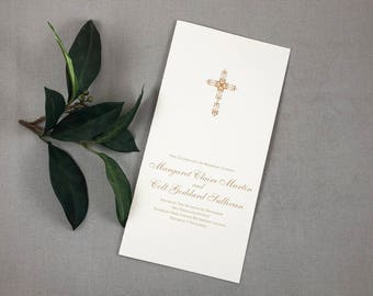 Christian Wedding Etsy