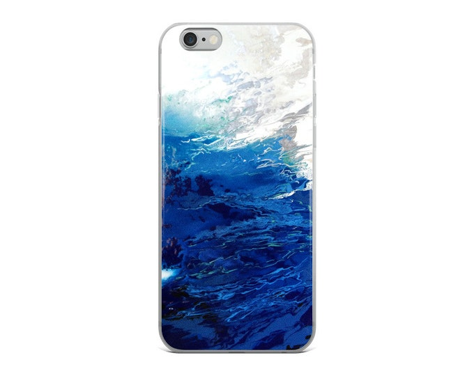 Deep Blue iPhone Case