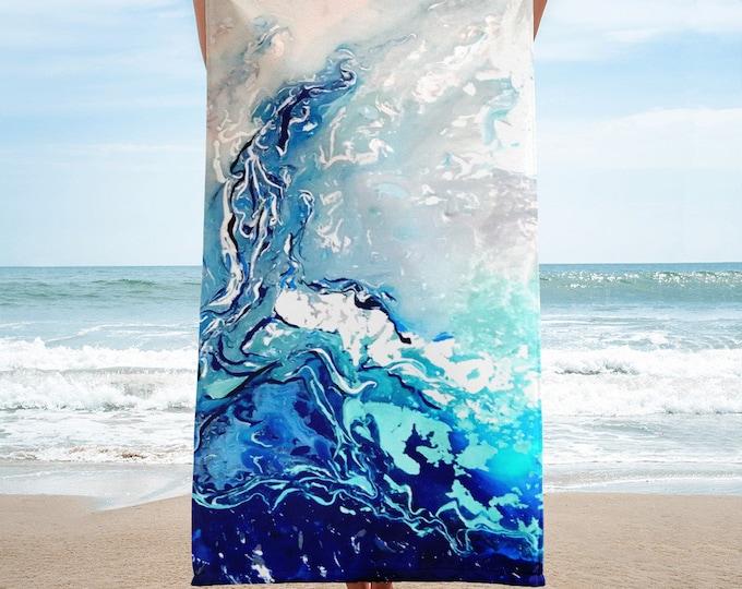 Making Waves Beach Towel