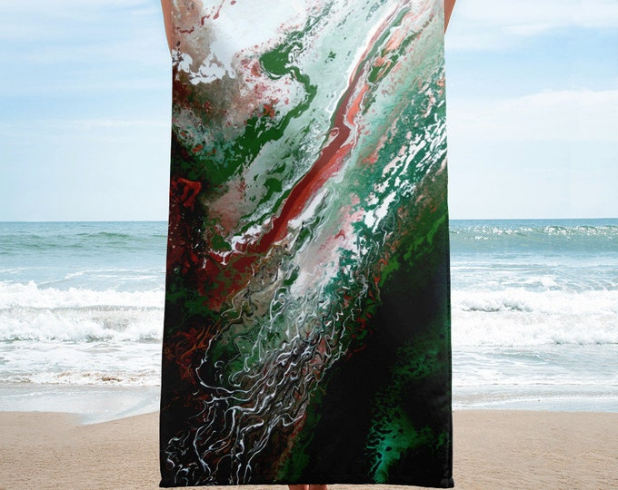 Serpens Beach Towel