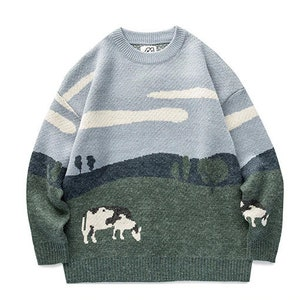 Vintage Woven Sweater