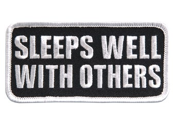A FRIEND Will Help You MOVE 4 x 2 Iron-On // Saw-On Rayon PATCH A BROTHER Will Help You MOVE A BODY