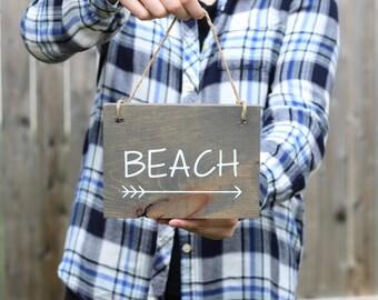 Beach Signs - Beach Decor - Beach Cottage Decor - Wood Signs - Wood Wall Art - Rustic Wood Signs - Beach Wall Decor - Beach House Decor