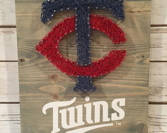 Minnesota Twins string art
