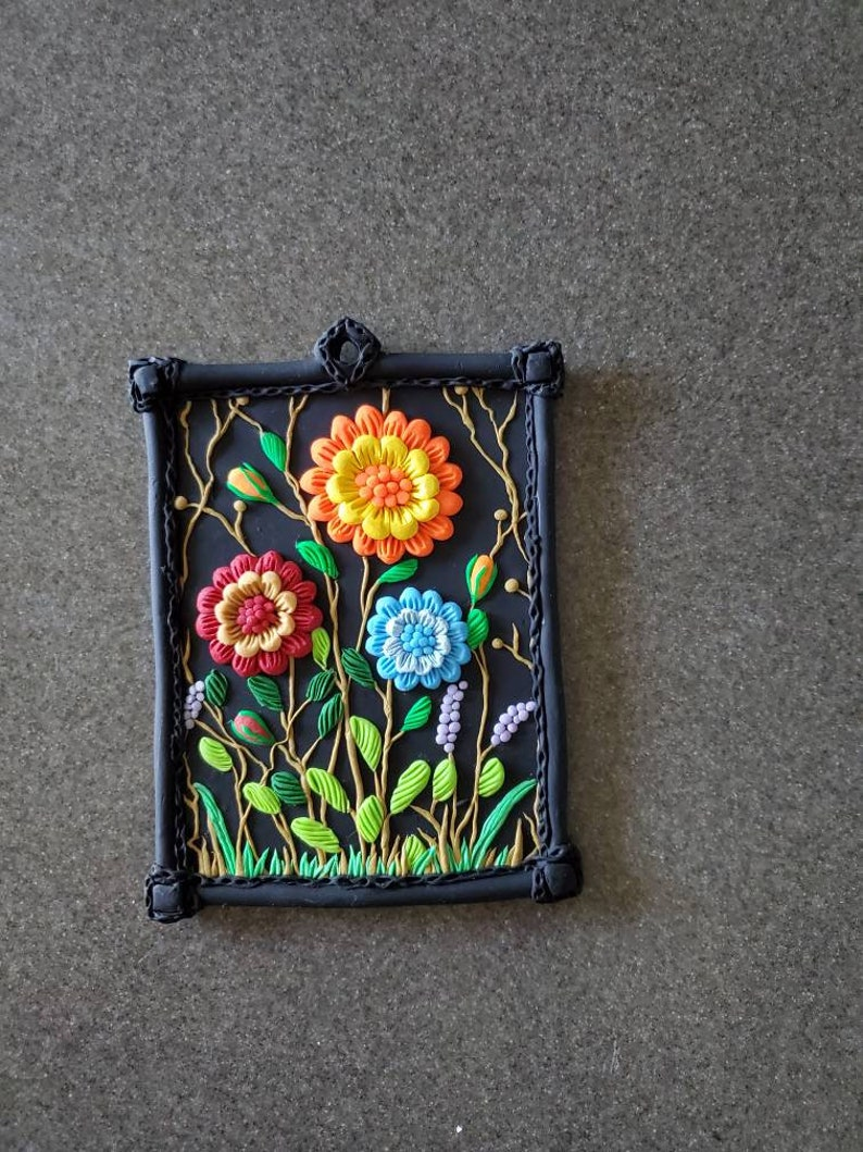 Polymer Clay Wall Hanging