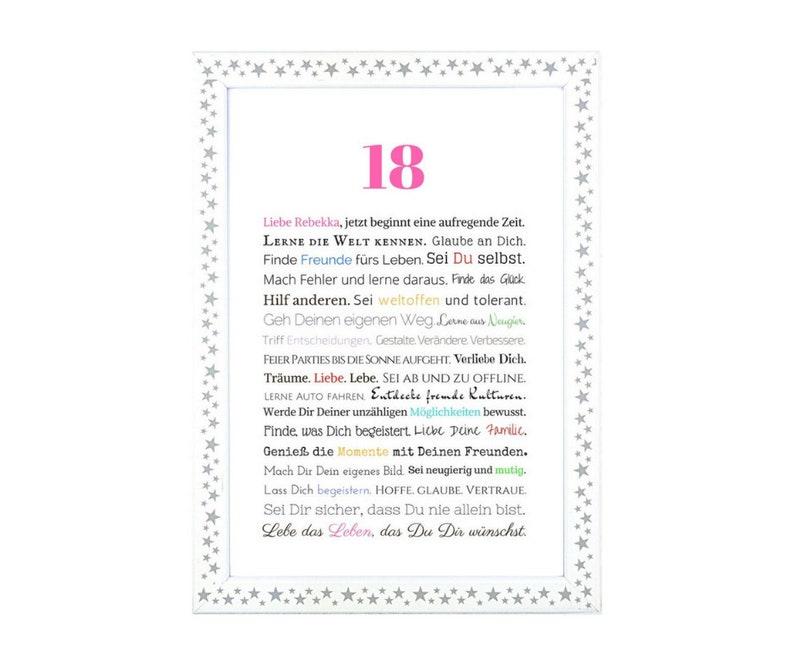 18 Geburtstag Tochter 18 Geburtstag Ideen Etsy