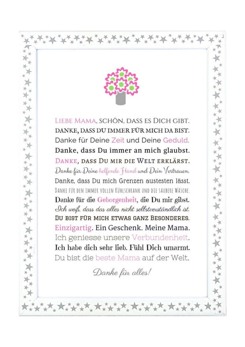 Cadeaux De Maman Anniversaire Fête Des Mères Dire Merci Etsy