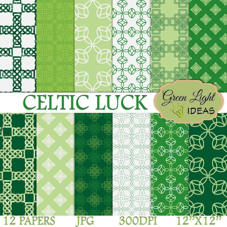 graphic regarding Printable Celtic Knot Patterns called St Patricks Working day Electronic Papers, Celtic Printable Papers, Irish Sbook Papers, Celtic Knots Layouts, St Patricks Working day Eco-friendly Backgrounds