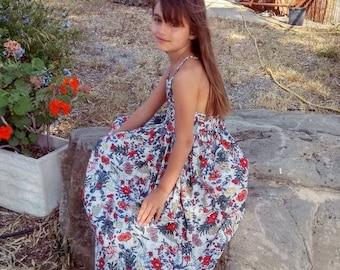 Girls Summer Dress Etsy