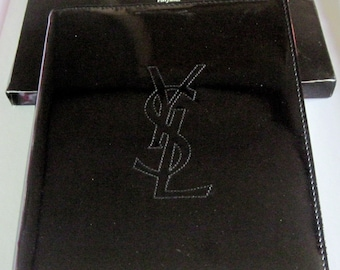 e0ce54d29dac3 Great book block note Yves Saint Laurent black varnish inside red. Rare  collectible.