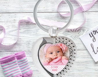 Christmas gift for Grandma - personalized Keychain Nana with your photo - Christmas gift Grandma - gift mother Grandma