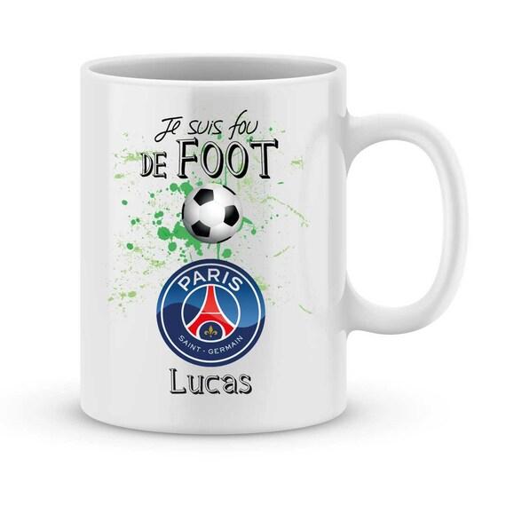 Ligue1 Avec Personnalisé Foot Prénom Mug Psg Votre dCsQxhrt