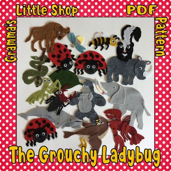 Busy Buzzers Preschool - The Grouchy Ladybug by Eric Carle   Facebook   570x570