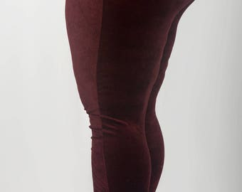 a6aa20a1f78a94 Red Velvet Plus size leggings, Fashion leggings, yoga leggings, exercise leggings  sizes 18-30 Free U.K Shipping!