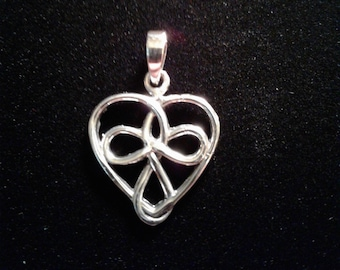Sterling Silver Celtic Heart (12)