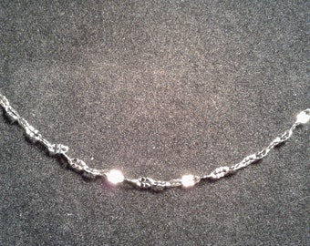 """Set of 6  20"""" Stainless Steel Chain"""