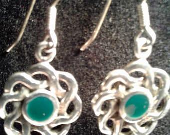 Sterling Silver Celtic Earrings (14)