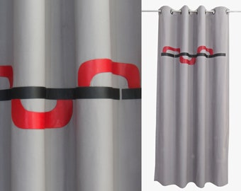masculine window treatments modern living room grey red black curtains modern curtain panels masculine bedroom mid century drapes custom sizes leather colours lined brown linen white curtains organic cotton etsy