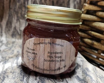 bb721a104aaf Homemade Strawberry-Fig Preserves made with Grandma Murphy s Old Recipe